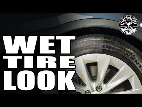 How To Make Tires Look Wet! - Tesla Model X - Chemical Guys Car Care