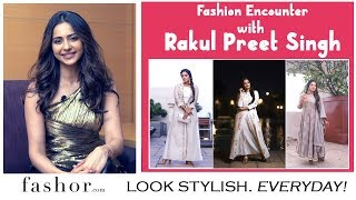 Actress Rakul Preet Singh shares her Fashion Secrets | 3 Festive Outfit Ideas with Fashor.com