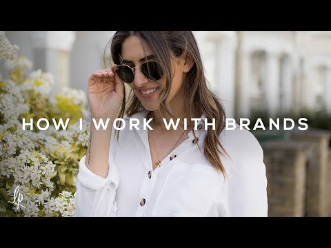 HOW I WORK WITH BRANDS | Lily Pebbles