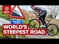 Cycling Up The World39s Steepest Road Wales39 Record Breaking Hill