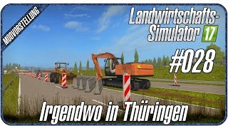 mega baustelle neue autobahn irgendwo in th ringen 028 landwirtschafts simulator 17 music. Black Bedroom Furniture Sets. Home Design Ideas