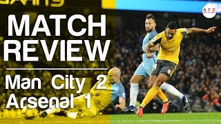 Manchester City v Arsenal 2-1 | 2016/17 | Match Review