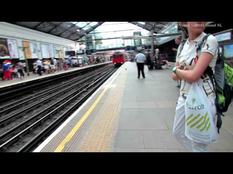 Earls Court Tube Station in London 1