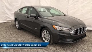 Download 2019 Ford FUSION HYBRID Sedan SE Carthage Watertown Gouverneur Syracuse Utica Video