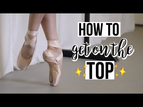 HOW TO - get on top of the pointeshoe box