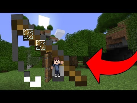 How to Live In a Fishing Rod in Minecraft Tutorial (Pocket Edition, PS4/3, Xbox, PC, Switch, Wii U)