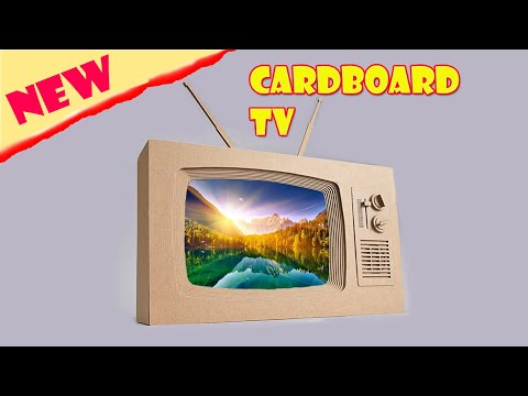How To Make Paper Television Tv Eassy Way