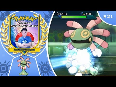 Pokémon Ultra Sun and Ultra Moon VGC 2018 Baek to Baek Battles - Episode 21: Rockabye in the Cradily