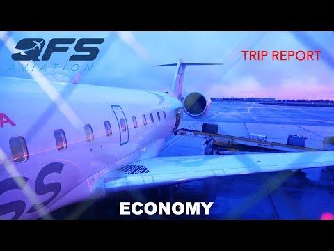 TRIP REPORT   Air Canada Express - CRJ 200 - Ottawa (YOW) to Newark (EWR)   Economy