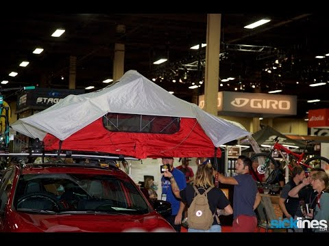 2017  Yakima Roof Top Tent Overview Details - Small and Medium