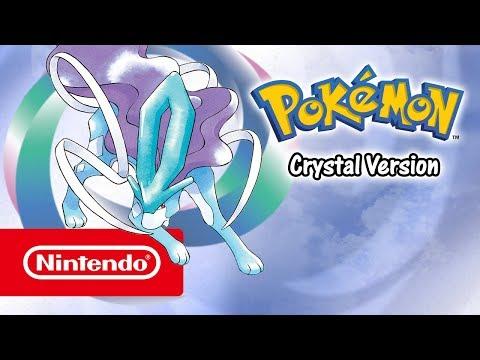 Pokémon Crystal Version - Launch trailer (Nintendo 3DS)