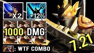 OMG 1000 DAMAGE SHURIKEN Ninja Build Scepter BH Cancer Combo Battlecup Tier 8 Top Immo Dota 2