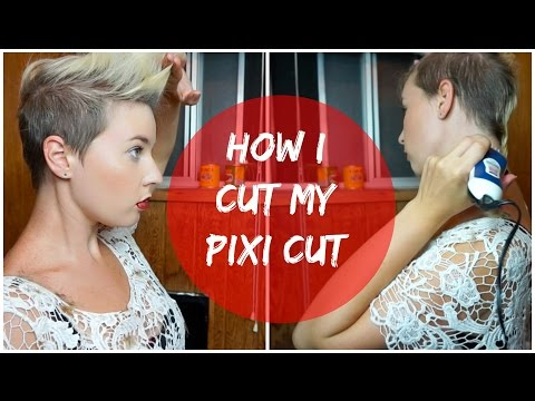 How I Shave and Cut My Pixi Haircut