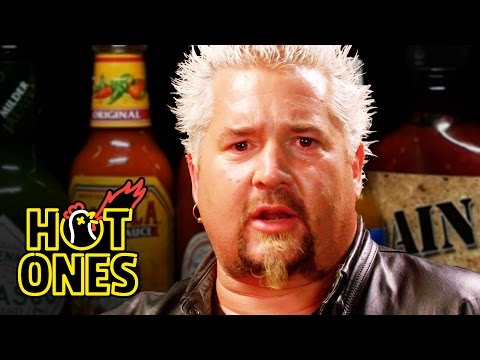 Guy Fieri Becomes the Mayor of Spicy Wings | Hot Ones