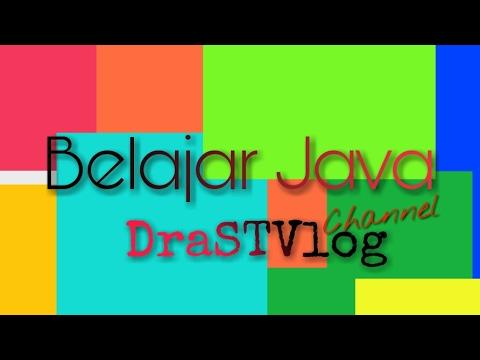 Tutorial Belajar Java - 17 Input User JOptionPane Swing