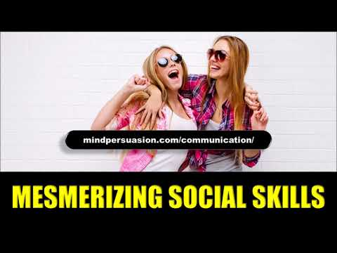 Mesmerizing Social Skills - Become A Social Magnet - Subliminal Affirmations