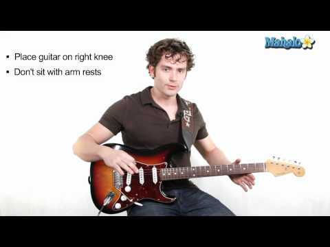 How to Hold the Guitar (Lesson 3 of 19)