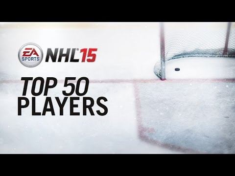 NHL 15 50 BEST PLAYERS IN THE GAME! ( NHL 15 Top 50 Player Ratings)
