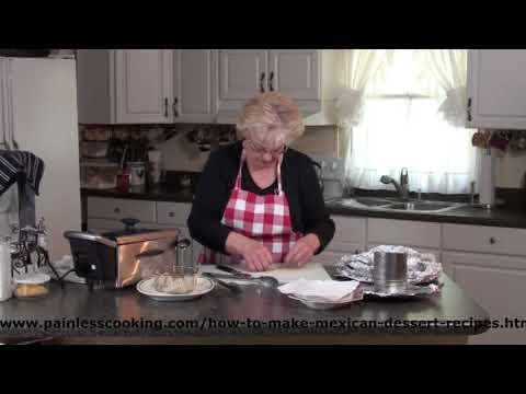 How to Make a Mexican Dessert of Sweet Tortilla Crisps