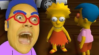 MILHOUSE GETS WITH LISA SIMPSON (Simpsons Hit and Run)