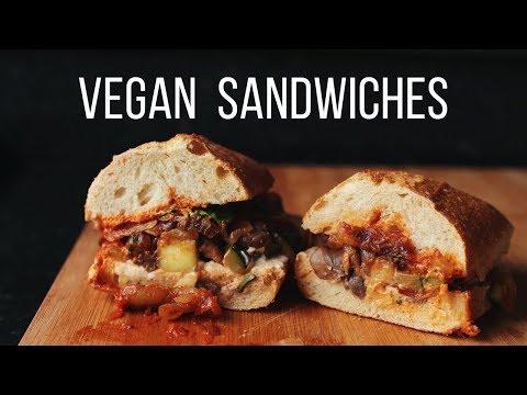 Vegan Sandwich Ideas! {healthy + easy}