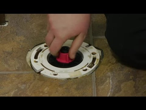How to Close Off a Toilet Drain : Toilet Repairs