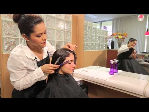 Layered Haircuts With Thick Bangs for Women With Straight, Fine Hair : Hair Styling & Gel