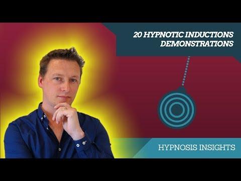 20 Sample Hypnotic Inductions Demonstrations With Dan Jones