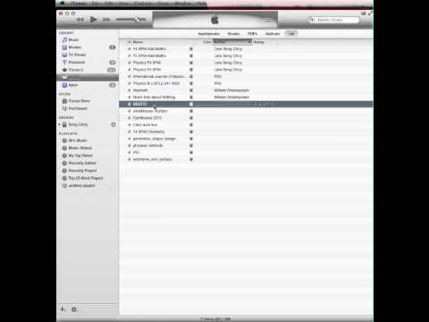 Wirelessly import pdf files into ibook application