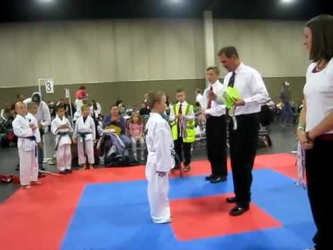 Sam karate tourney medals ceremony