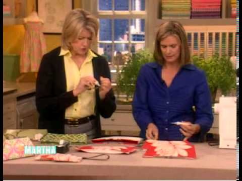 UPSTYLE Fabric Clutch Demo with Martha Stewart