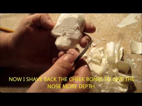 HOW TO MAKE A SOAP CARVING WITH DAVE ZACHARY (SKULL)