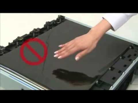 How to replace Transfer Belt unit and Transfer Roller OKI C900