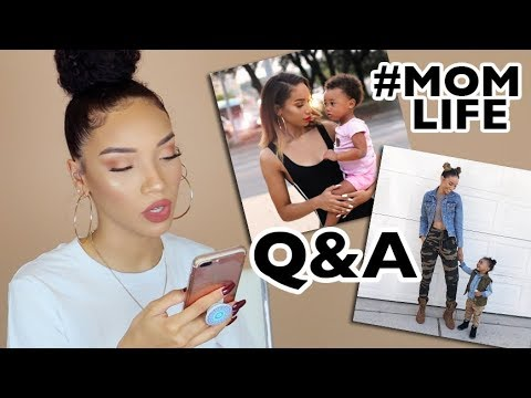 Single Mom Q&A | My Secrets & Struggles - Raising a Toddler