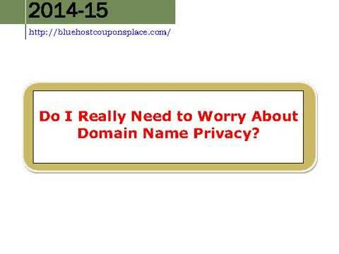Do I Really Need to Worry About Domain Name Privacy ?
