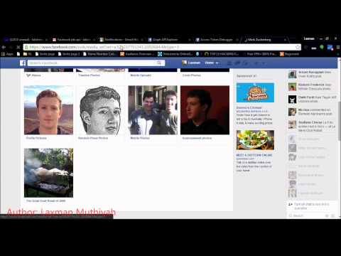 How I Hacked Your Facebook Photos | Deleting any photo albums on Facebook using Graph API