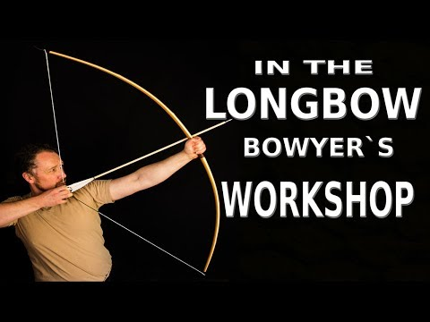 KIDS WARBOW  Today in the Professional Bowyers Workshop