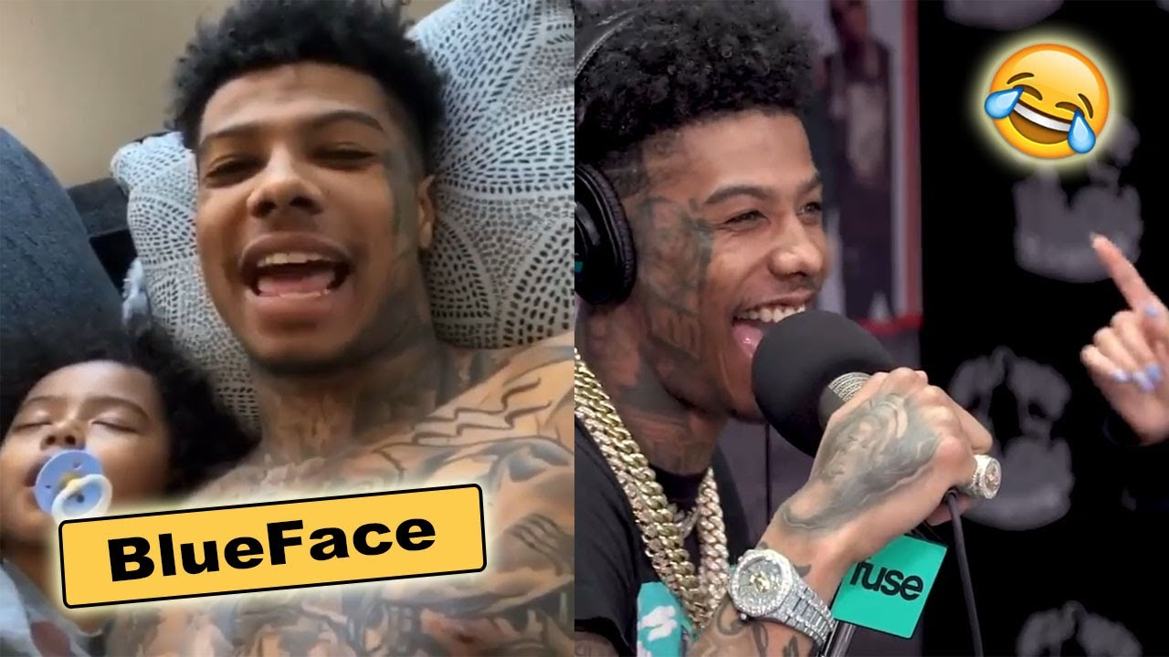 Blueface Funny Moments