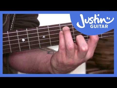 Guitar Chords – Moveable Major 7 Chord (GMaj7) - G5 Chord Guitar ...