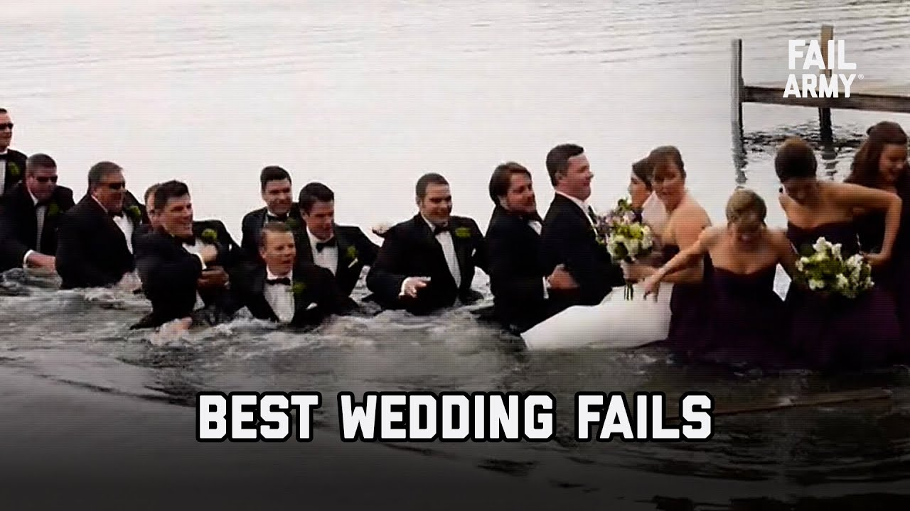 Best Wedding Fails   Funniest Wedding Fails Compilation 2021