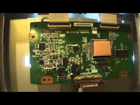 # 5 - Recherche de panne sur un écran TV LCD part.1