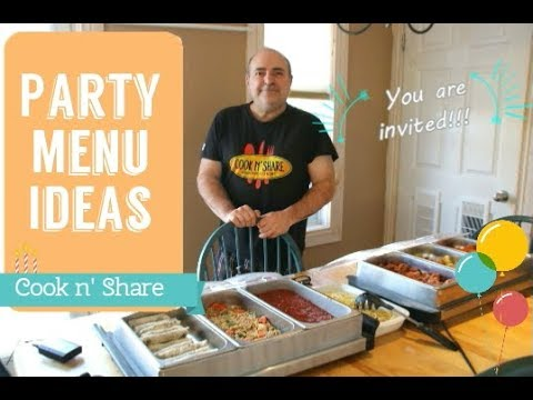 Party Ideas - What is Your Favourite Party Food?