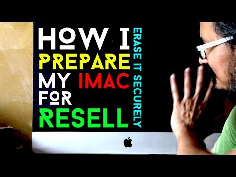 How I Prepare My Apple iMac/Macbook/Apple Air For sell/Give Away And Erase Securely