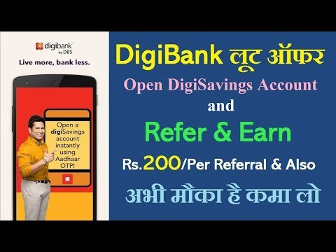 Digibank | Refer & Earn ₹200 per Referral and also get ₹500 with Debit Card