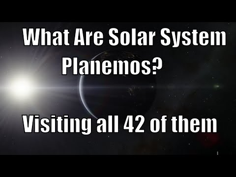 42 Planemos of Our Solar System - Visiting in Space Engine