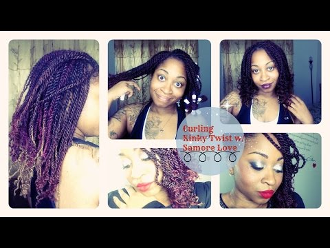 How to Slay Senegalese twist /Kinky Twist Easy Curl & Seal Ends Tutorial