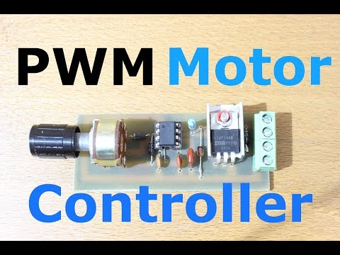 Homemade PWM Motor Speed Controller