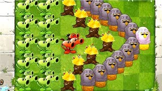 Plants vs Zombies 2 Threepeater Peashooter, Torchwood and Toadstool aStrategy This week PVZ 2