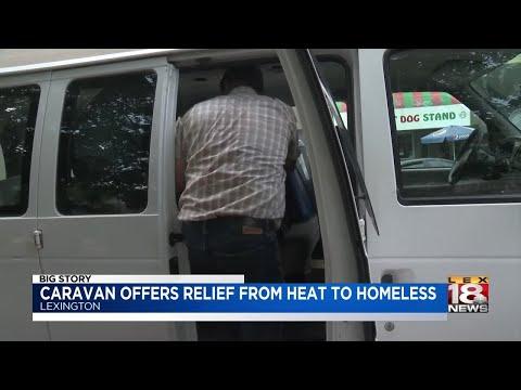 Compassionate Caravan Checks On Lexington's Homeless In Extreme Heat