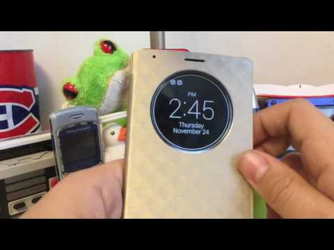 LG G4 Great Shield Quick Circle Case (Unboxing and Reaction) $12